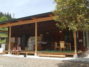 NPO法人が運営するカフェ。平日だと2時頃閉店なので注意
