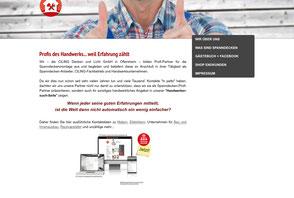 Bild Website CILING http://www.profis-des-handwerks.de