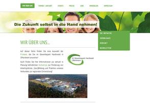 Bild Website CILING http://www.gewerbepark-hardtwald.de