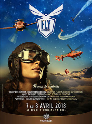 FLY COURCHEVEL 07 & 08 Avril 2018
