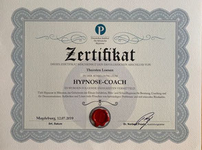 Zertifikat Dr. Norbert Preetz