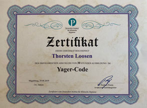 Yager-Code Dr. Preetz Edwin Yager