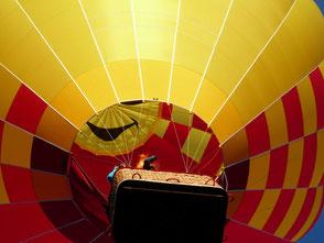 Ballonfahren mit Herzballon München Rosenheim Chiemsee Umgebung