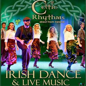 Celtic Rhythms Irish Dance and Live Music