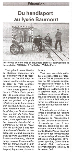 article du 13 octobre 2016
