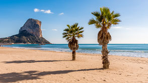 Segeltörn Ibiza Menorca Strand