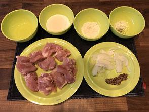 鶏肉のマスタードクリーム煮