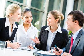 Moderation von Meetings