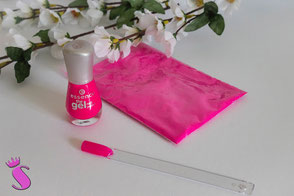Nagellack selber machen mit Pigmenten