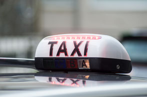 assurance taxi lumineux