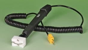 Temperatursensor Tastotherm für Rohre und Walzen