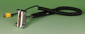 Temperatursensor Tastotherm Rollenfühler für bewegende Oberflächen