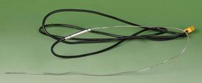 Temperatursensor Tastotherm Mantelthermoelement, Inconel, biegsam