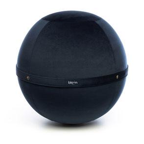 Siège Ballon Bloon Velvet Bleu Lazuli ERGOaccessoires.com