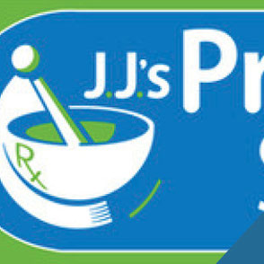J.J.'s Prescription Specialties Logo Design Lake Charles Louisiana