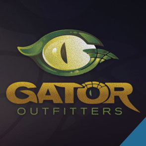 Lake Charles - Gator Outfitters Logo Design