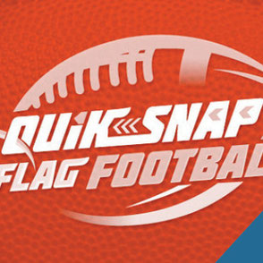 Quik Snap Flag Football Logo