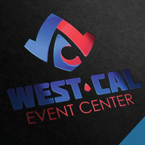 West-Cal Event Center Concept Logo Design Lake Charles Louisiana