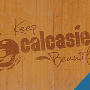 Keep Calcasieu Beautiful Logo Design Lake Charles Louisiana
