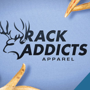 Rack Addicts Apparel Logo Design Lake Charles Louisiana
