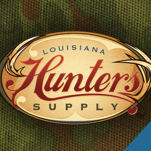 Hunters Supply Logo Design Lake Charles Louisiana