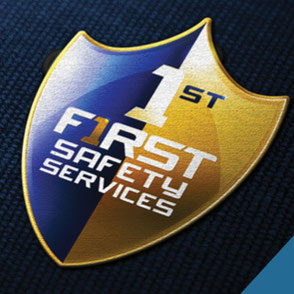 First Safety Services Logo Design Lake Charles Louisiana