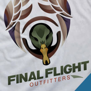 Final Flight Outfitters Store Logo Design Lake Charles Louisiana