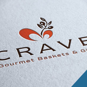 Gourmet Baskets Gifts Logo Design Lake Charles Louisiana