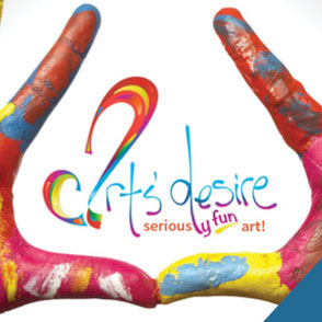 Art's Desire Logo Design Lake Charles