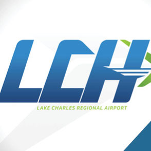 Lake Charles Regional Airport Logo Design Lake Charles Louisiana