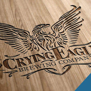 Crying Eagle Brewing Company Logo Design Lake Charles