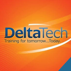 Logo Design Lake Charles Louisiana School Delta Tech Logo Design