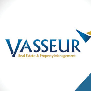 Vasseur Real Estate Logo Design Lake Charles Louisiana
