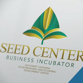 Seed Center Logo Design Lake Charles Louisiana