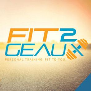 Fit 2 Geaux Logo
