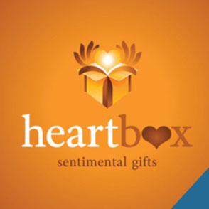 Heartbox Sentimental Gifts Logo Design Lake Charles Louisiana