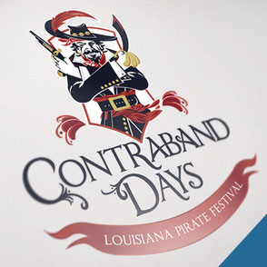 Festival Logo Design Lake Charles Louisiana