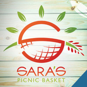Sara's Picnic Basket Logo Design Lake Charles Louisiana