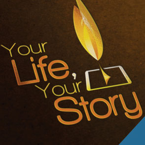 Your Life, Your Story Logo Design Lake Charles Louisiana
