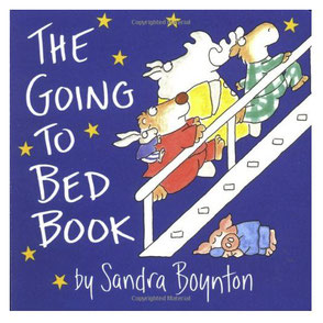 Sandra Boynton Board book for traveling with baby