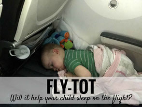 Fly Tot Review - Will it help your child sleep on the flight?
