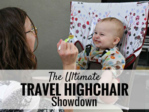 Best travel highchair for travel with a baby or toddler