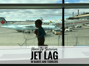 How to Survive Jet Lag in Babies and Toddlers
