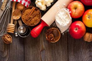 Backzutaten Apfelkuchen