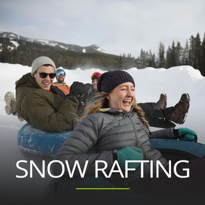 Snow Rafting als Betriebsausflug in der Steiermark