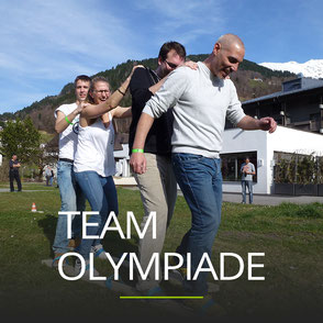Teamolympiade als Betriebsausflug Idee