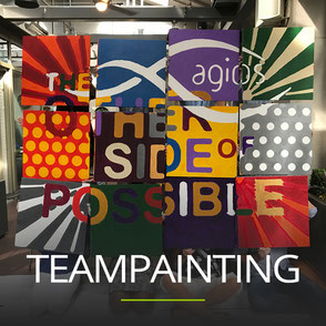 Incentive Veranstaltung Teampainting