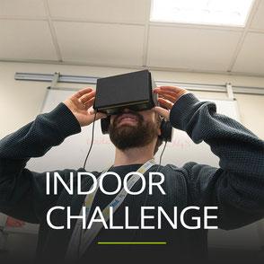 Indoor Challenge als Firmenausflug