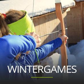 Wintergames als Betriebsausflug in Vorarlberg