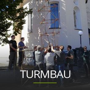 Teambuilding Übung | Turmbau